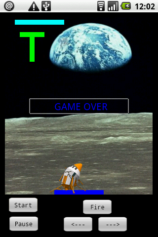 Lunar Lander screen shot